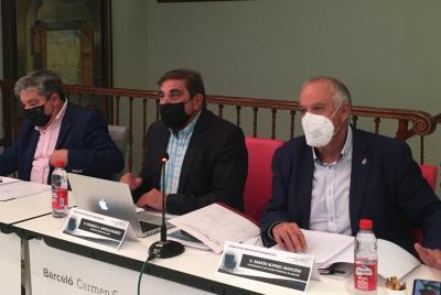 Imagen de la noticia: Ramón Ropero asistió en Granada a la reunión de ...