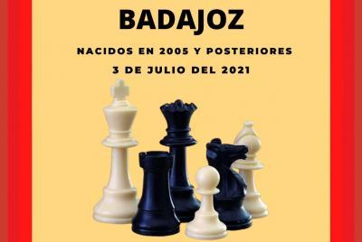 Imagen de la noticia: Torneo Gran Premio Diputación de Badajoz de Ajedr ...