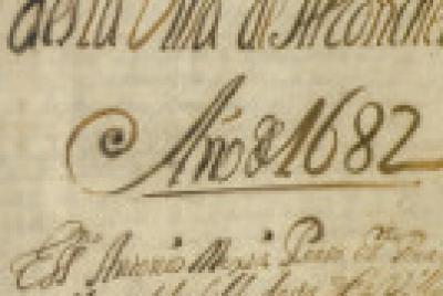 Imagen de la noticia: Escrituras públicas de Alconchel entre 1682 y 168 ...