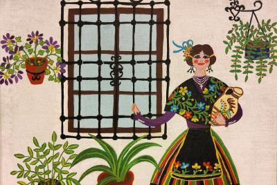 Imagen de la noticia Los herederos de la pintora Mercedes Barba donan varias obra?>