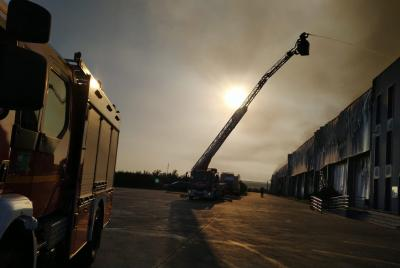 Imagen de la noticia: Siete parques de bomberos del CPEI han intervenido ...