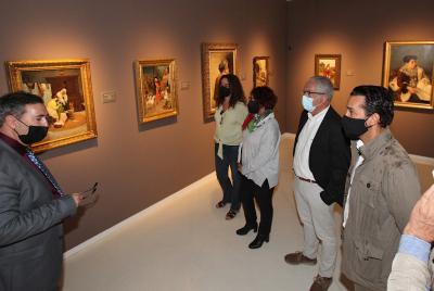 Imagen de la noticia El MUBA acoge la exposición 'Grandes maestros del siglo XIX?>