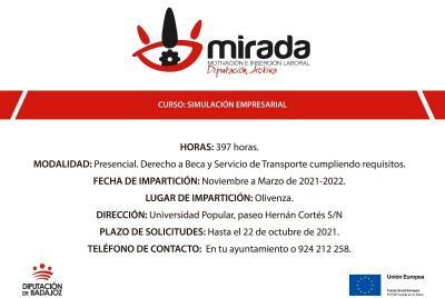 Imagen de la noticia: La Diputación de Badajoz impulsa un curso de '� ...