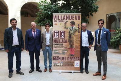 Imagen de la noticia: Manuel Perera se enfrentará a seis novillos el pr ...