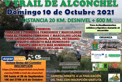 Imagen de la noticia: V Trail de Alconchel ...