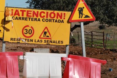 Imagen de la noticia: Corte en la Carretera Provincial BA-001 de Aceucha ...