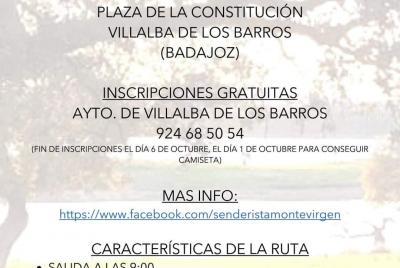 Imagen de la noticia: Ruta Senderista Entre Dehesa, Viñedos y Olivares ...