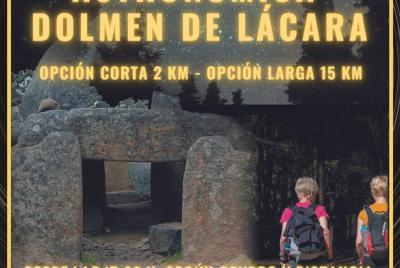 Imagen de la noticia: Ruta Senderista Astronómica Dolmen de Lácara ...