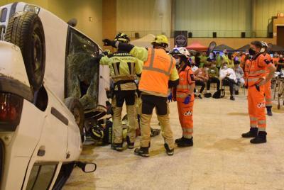 Imagen de la noticia: Los bomberos del CPEI de la Diputación de Badajoz ...