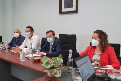 Imagen de la noticia El equipo de gobierno perfila en Alange el presupuesto de la?>