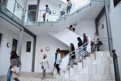Imagen de la noticia Desalojado el Museo de Bellas Artes de la Diputación de Bad?>