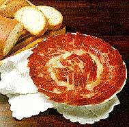 Plato jamón