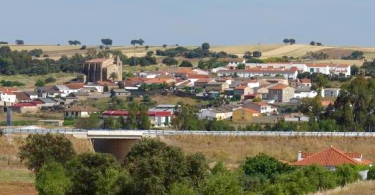 Vista de Aljucén